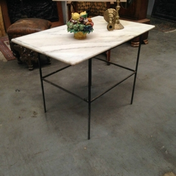 Tables mobiliers nord antique - Table d appoint fer forge ...